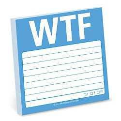WTF Sticky Notes